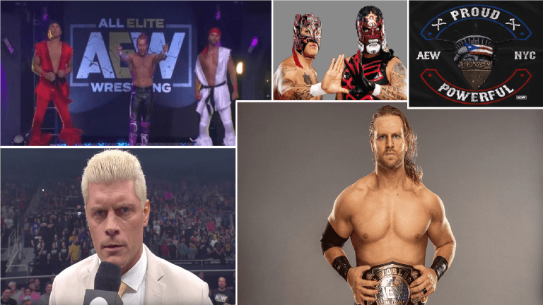 AEW Top 5 Matches of Year One