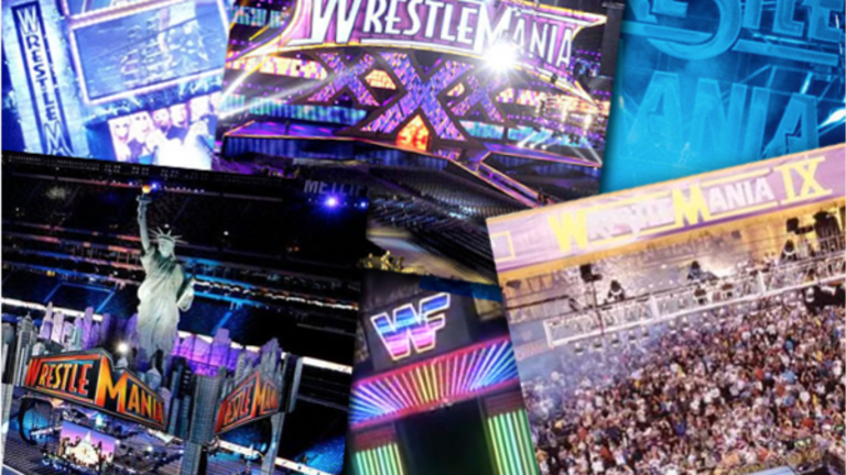 The Nine Best WrestleMania Stages