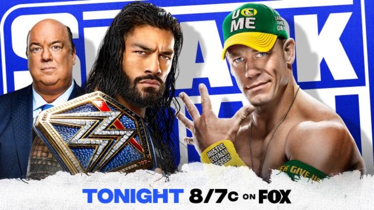WWE SmackDown LIVE coverage and commentary (08.20.21)
