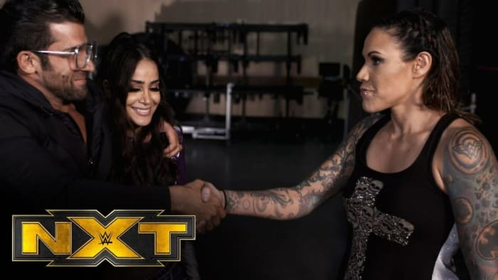 On NXT Shotzi Blackheart battled against Aliyah in an intense match-up. After the match Shotzi drove her tank over the leg of Robert Stone for the second time before Martinez interfered shocking the NXT universe. Later in the night we saw Martinez join the Robert Stone Brand. Personally I think this was a fantastic decision, the Robert Stone Brand has been the biggest source of comedy on NXT Tv and on social media. However this brand lacks in ring credibility, now with the edition of Mercedes Martinez they have everything they need to become a huge success. This partnership works in the favour of all parties and will contribute to the growth of all three members. Martinez has so much experience in this sport that hopefully she will use help teach Aliyah and push her further in her career. How will Shotzi respond to this next week?
