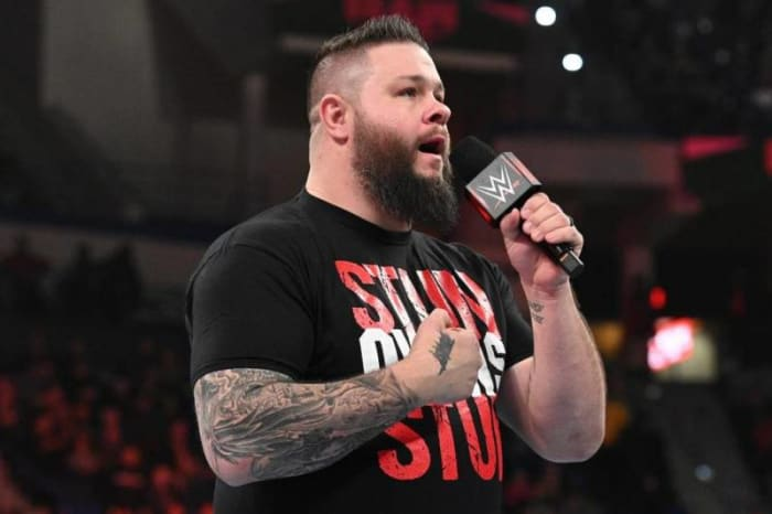 Kevin Owens is a fantastic wrestler. His run in NXT was perfectly booked and executed. In NXT Owens had the IT factor. In my opinion, Kevin Owens hasn't been treated and booked correctly on the main roster since his debut. I mean the last time he held the Universal Championship he got beat by Goldberg. He deserves another main spotlight run. A great opportunity would be to have Kevin Owens get drafted to NXT and have some rivalries with the likes of Grimes, Priest, and Kross.