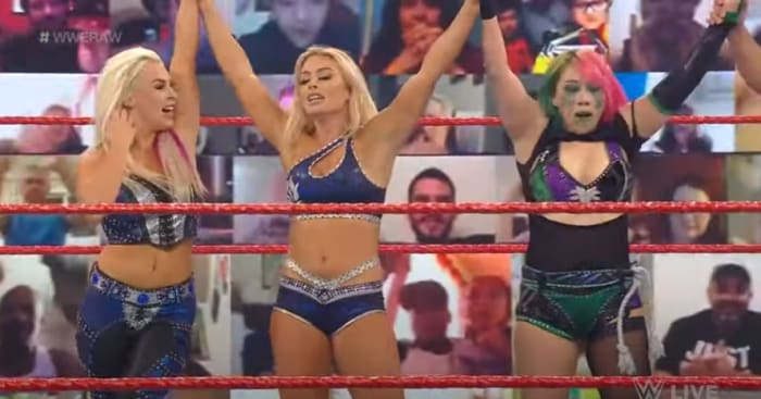 Over the past few weeks it seemed like there wasn't any direction for Asuka and the Raw women's title hopefully now with new talent on the red brand we will get a new exciting feud. Recently I have been very frustrated with the women's segments on Raw but this week I was pleasantly surprised. I like the team of Mandy and Dana as neither were doing so well on their own and we can always use some more tag-teams in the division. I think they worked very well together this week with the additional help from Asuka. I think the match itself had purpose and was quite good, it didn't go on too long, the new superstars gained momentum and they looked like they were having fun especially Asuka. The ending was of course my favourite part, Shayna Baszler and Nia Jax were cleared to return and they made a statement when they did. This on going issue with Lana and the announce table continued which is always fun to watch and later on during the show Baszler and Jax retained their tag team titles. As we learnt from the draft the champions will remain on Raw but hopefully they will defend on all three brands soon.