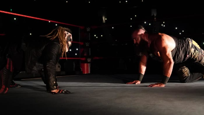 The Fiend needs to get revenge on Braun...plain and simple. There's no way around it. Braun beat Bray clean, just last month and we got a glimpse of The Fiend after the match...which wasn't a coincidence. We all know this match is happening, we just don't know if it'll happen at Extreme Rules or SummerSlam. After the whole Goldberg fiasco, The Fiend absolutely cannot take another loss ANYTIME soon...and he won't. The Fiend will be the NEW Universal Champion in short-order.
