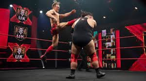 On NXT UK this week, our opening match was Ilja Dragunov vs Dave Mastiff and it started off as hard hitting as we expected. Dragunov hit Mastiff with a big boot straight out of the gate and both men exchanged some great strikes before the match had to come to a sudden end. Ilja hit mastiff with a strong strike and Mastiff was bleeding a lot and the referee called the match. This was really upsetting to see and I hope Mastiff will be okay and heal fast. Accidents happen and people get hurt but it's never fun to watch.