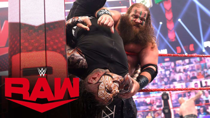 Recently Raw has been switching it up every few weeks starting off the show with big matches like this and I really like the idea of it, it kicks off Raw with a bang and I love that. I really enjoyed the match and Riddle winning on behalf of Randy was great. It was so much fun to see Priest and Riddle be the final two even though I wish Priest hadn't eliminated Jinder Mahal, he was my pick! It was a really great start of Raw.