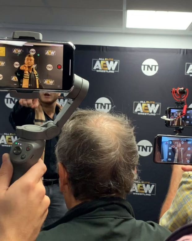 MJF Talks On Dustin Rhodes And Why He Works With AEW