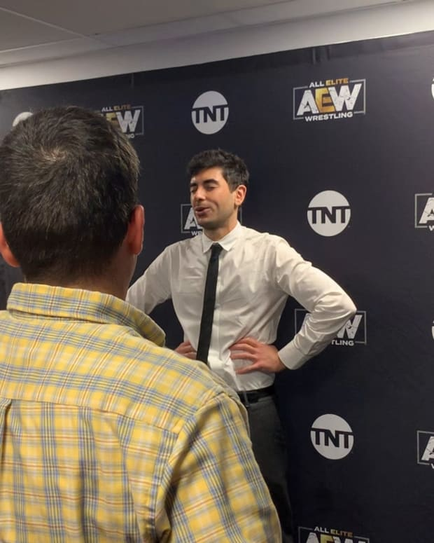 Tony Khan Talks About The Hot Dog Being Thrown In The Ring