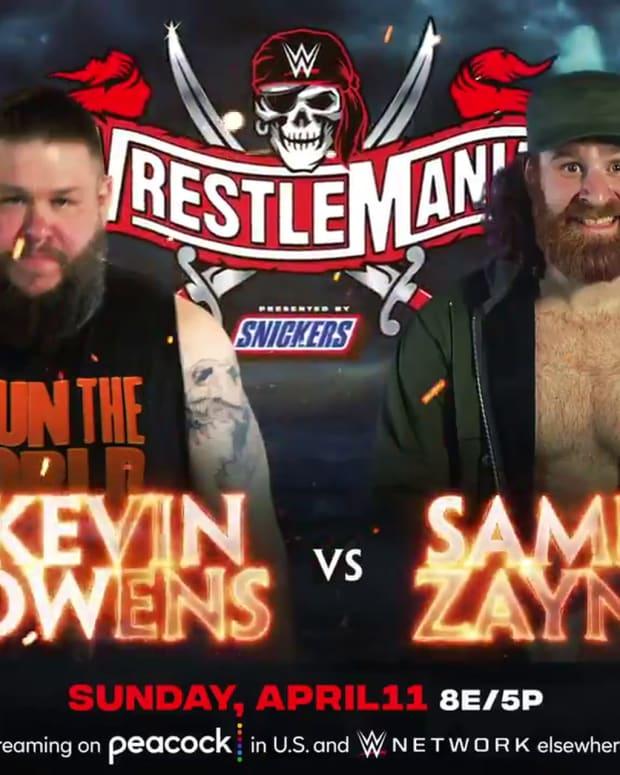 Sami Zayn v Kevin Owens