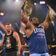 The show this week opened up with our NXT North American Champion and new NXT Champion, Keith Lee addressing the NXT Universe and it was probably the best promo he's cut in NXT. Lee addressed the fans, the locker room, his coach who recently passed away, and acknowledged that his current position was not one built on self success but with the help of others. This led him to call out his long-time friend and rival Dominik Dijakovic and offered him to help celebrate his accomplishment with a title match later on in the evening. After some reluctance, Dijakovic accepted. This felt genuine from Lee, who is a gifted speaker when not directed and it showed here, this was really good and set the pace for the rest of the evening. Dijakovic was the perfect call out and perfect opponent given their storied history.