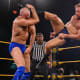 Timothy Thatcher has been a presence on NXT TV as of late. His old school style of wrestling isn't for everyone but no one can deny how effective it is. It takes a certain type of wrestler to really maximize it in a storytelling type of way and there is no better wrestler on the NXT roster for that task than Oney Lorcan. These two had a match that I enjoyed during the Great American Bash, so I was excited about the second chapter in this rivalry. What I really enjoyed was that these two told a story that will inform an eventual third match down the line, because I want more of this. Thatcher came out in this match overconfident in his ability to out work Lorcan from their previous match, however, Lorcan proved that he learned a lot during his first encounter with Thatcher and kept him off balance and even managed to injure his arm during the match. Lorcan's overeagerness eventually caught up to him and was snared in a pinfall predicament that allowed Thatcher to narrowly escape with the win. I liked this because it planted seeds going forward between these two; though Lorcan lost, his adaption and evolution to Thatcher made him look like the win was stolen from him and will allow their future match to come with both men looking like credible threats to one another. These two have crazy chemistry so I can't wait for this future clash, it's inevitable!