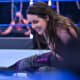 Suffering from injured ribs, Cross confronted SmackDown Women's Champion Bayley on Friday night in hopes of getting another shot at the title. Bayley agreed to the rematch, but only if she could win her match that night…. against her tag team partner, Alexa Bliss. The former women's tag team champs went back and forth, but in the end, Nikki Cross emerged victorious. Friday night will be her chance as redemption when she faces Bayley one more time for the SmackDown Women's Championship.