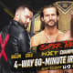 At the top of the second hour of last night's show, William Regal would come out and announce a Fatal Four Way match between Johnny Gargano, Tommaso Ciampa, Adam Cole, and Finn Balor to determine a new NXT champion that would take place next Tuesday on NXT. Furthermore, seeing how these four are some of the greatest competitors on he black and yellow brand's history, the match would be a sixty minute Iron Man Match, the first in the company's history. Only one of these former champions will rise to the top and we find out, next week.This is great! We get a new NXT Champion right away and we get a possible match of the year candidate to help take us there, I love it! There must be a top dog in NXT and either one of these four can do it and we have proof because they have done it in the past. Seeing as we have three heels and a tweener like Balor, it'll be hard to fully get behind any one performer so let's just sit back and enjoy the show, it's gonna be one helluva match, I promise you that!
