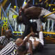 The Velveteen Dream's return and heel turn has been met with mixed reviews. Some question Dream's randomness in his appearances, some question whether Patrick Clark should even be on TV at all, but either way, the enigmatic and controversial star made his return to TV after being seemingly murdered by table at TakeOver XXX...seriously, I thought he was done for. and took on Ashante Adonis in what should have been light work for Dream. But Adonis, being taken lightly by Dream show up early and often, even almost being Dream before an offended Dream got serious and put away the young upstart for the victory. After the match, an enraged Kushida attacked Dream in a display of anger and fire that we've yet to see from the Japanese star since his arrival stateside. The Time Splitter let Dream know that he wasn't done with him in the aftermath and we have a new story on our hands.I didn't really care for the match, though Adonis acquitted himself very well. The story here is the return of Kushida, who was the victim during Dream's heel turn last month. Kushida has been underutilized and over looked since his arrival to NXT and this could be a spark that jump starts his tenure in NXT. Meanwhile, Dream is a character that is above wins and losses so he will be fine in this regardless of the outcome, but if he is to be seen as a contender for the NXT title, then he needs to come out on top of this.