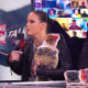 "I still don't know why Shayna isn't a permanent guest on Raw Talk or why she doesn't have a spin off with Truth, this definitely stopped the night from being a total disaster. The women's tag-team champions were not in a good mood this week and I don't blame them. Tomorrow night, Nia will have a match against Lana and I'm sure we all know how that is going to end up. This was maybe my favourite discussion that they had on Raw Talk since Shayna wasn't convinced Asuka was being a good friend by talking Lana into the match, ""hey, I bet you can stand out in the middle of traffic, go on!"" Shayna always does come up with the funniest things on this show, even when she's in a bad mood. For the first time ever I really agree with everything Nia said, they all consistently worked hard for years and in comparison Lana has worked hard for 5 minutes. "" I am sick and tired of the way things are around here."" - Shayna Baszler."