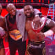 I know that technically this was last week but I have to bring it up. I am very happy for the Hurt Business that they've won the Tag titles and this goes a long way to help building this unit, however my heart is broken for The New Day. They always find a way to get back on top so I'm not too worried but they are my favourite team and have done so much since coming back to Raw. I am really hoping they will eventually win them back but more than anything I hope that they will keep being relevant on Raw. I am worried they won't be used as much now they're no longer the champions but they're are one of my favourite parts of WWE programming and I want to continue seeing them every week on TV. Congratulations to the Hurt Business though for a really impressive win.