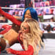 This match wasn't bad but I think it was the weakest of the night. It was quite average. I really don't like this character of Carmella's it's very annoying, so I can't ever really enjoy her matches. Banks did exceptionally well and I have to say I enjoyed Reginald's presence he makes Mella more interesting. Bank's gear was amazing and it matched well with her in ring skills too. I am so glad Sasha picked up the win and I cannot wait for this match between Banks and Belair at Wrestlemania. This is finally over and now we can focus on Bianca. Looking forward to Smackdown this week to see Bianca confirm what we already know.