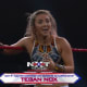 The comeback girl of NXT pulled out the biggest win of her career (so far) when she knocked off Dakota Kai, Candice LeRae, and Mia Yim in a Fatal 4-Way Elimination Match at the Great American Bash. Nox is now the #1 Contender for Io Shirai's NXT Women's Championship.