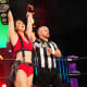 The AEW Women's World Champion added another win to her impressive AEW resume at Fyter Fest. Shida took out Penelope Ford, along with her meddling fiancé Kip Sabian, to continue her reign over the AEW women's division.