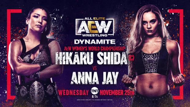 Shida vs Anna