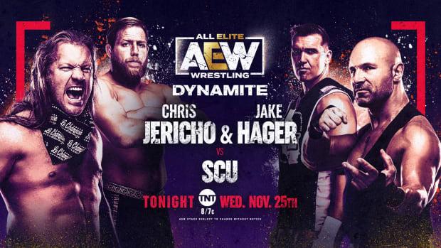 Jericho & Hager vs SCU