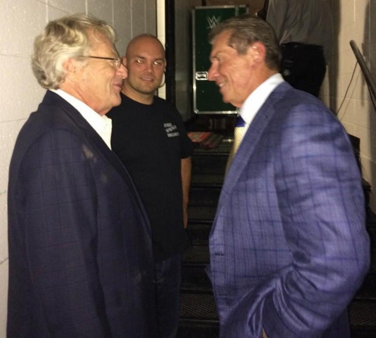 Jerry Springer & Vince McMahon