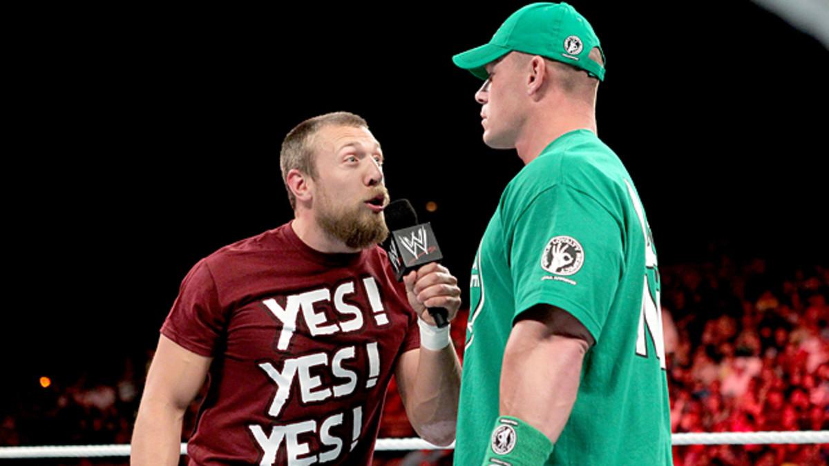 Daniel Bryan vs. John Cena