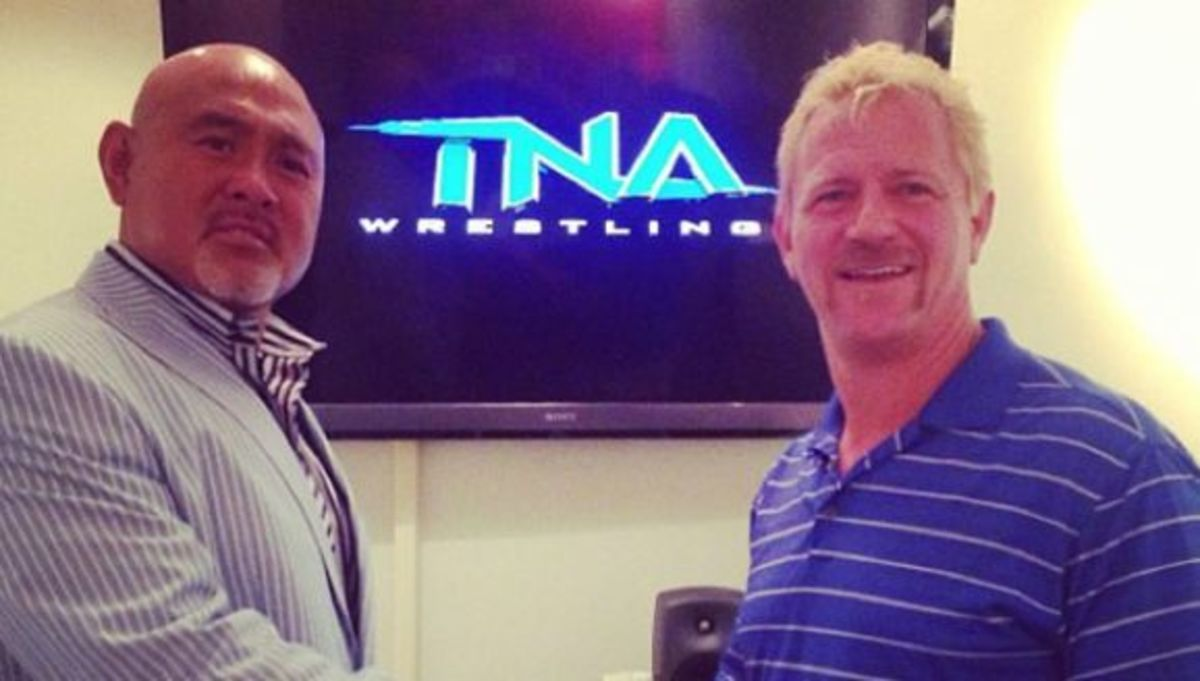 Jeff Jarrett & The Great Muta