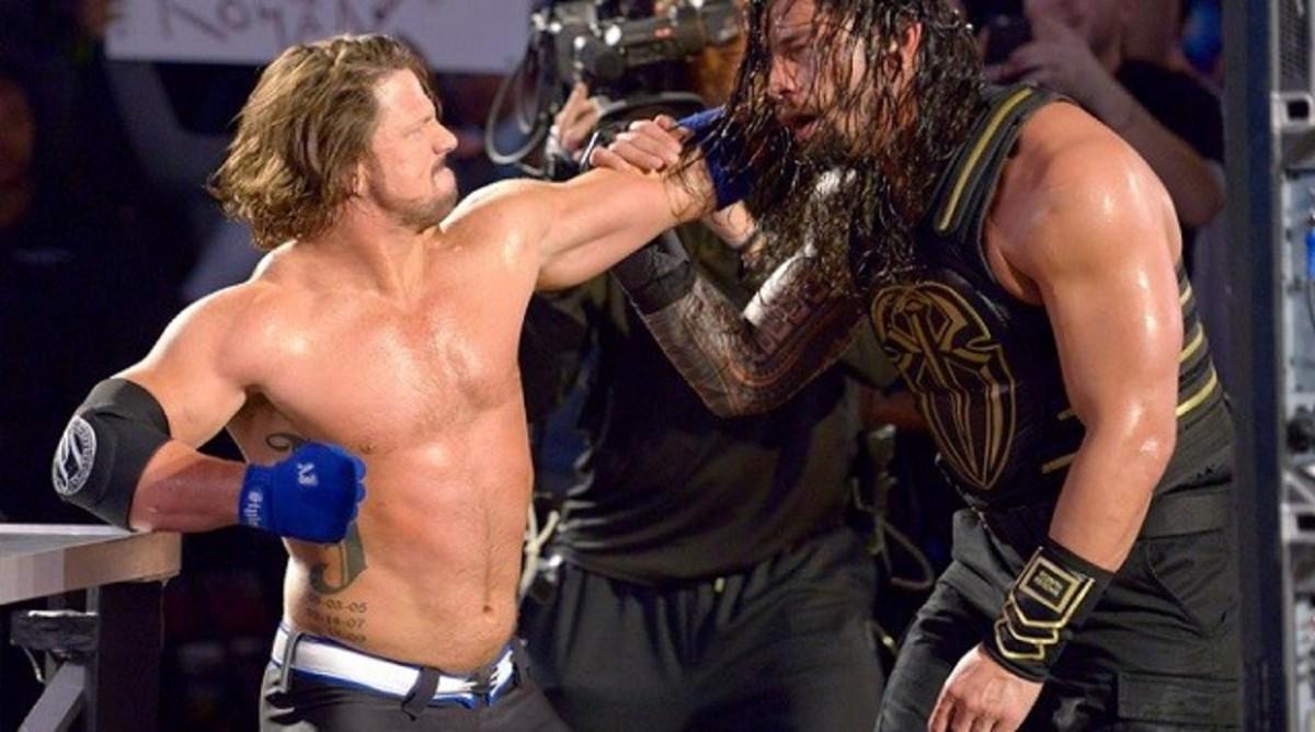 AJ Styles vs. Roman Reigns