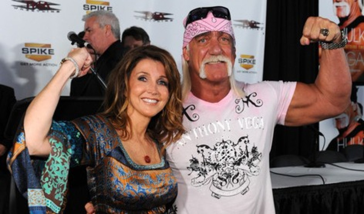Dixie Carter and Hulk Hogan