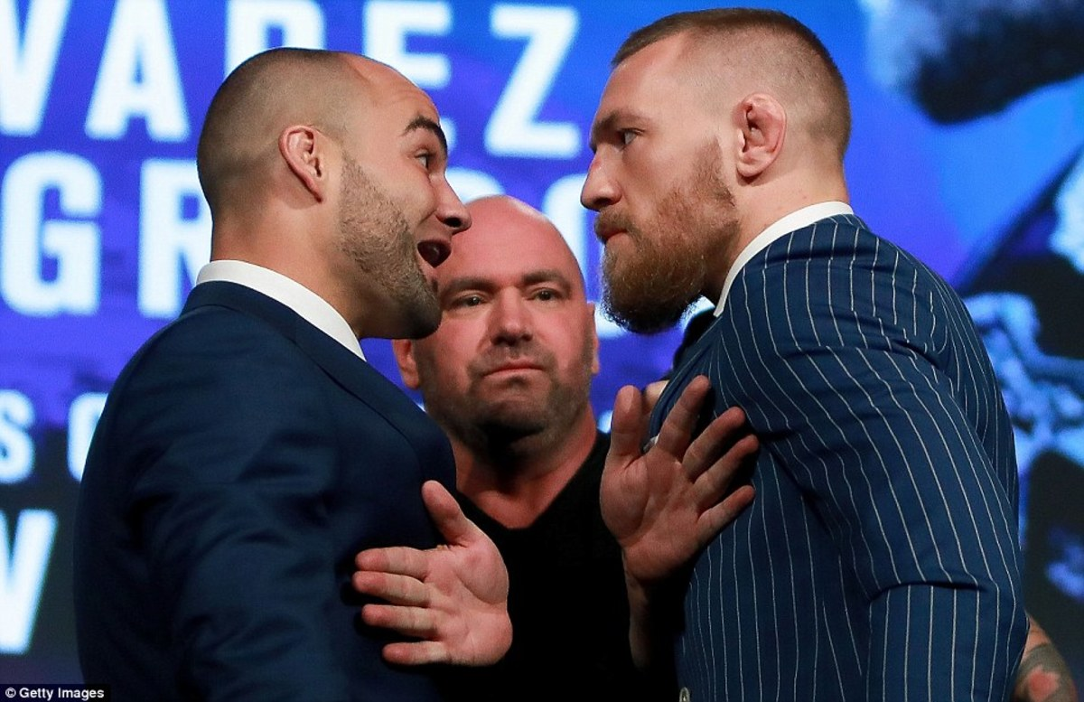 Eddie Alvarez and Conor McGregor