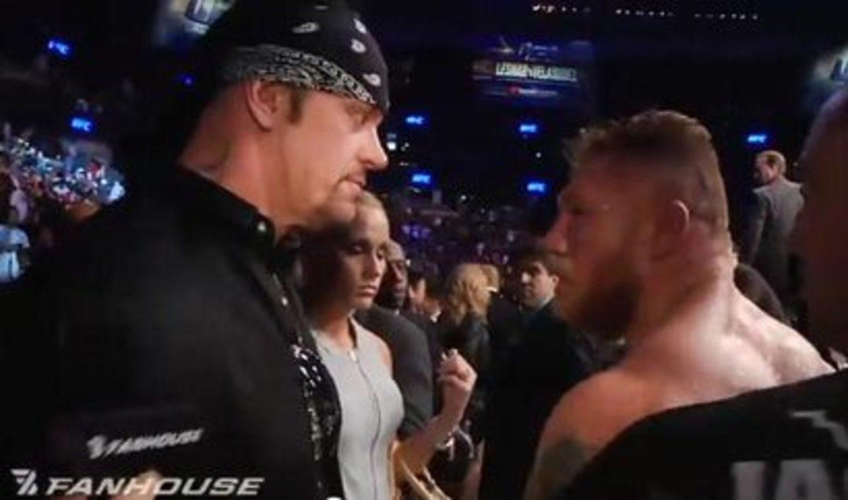 Undertaker & Brock Lesnar
