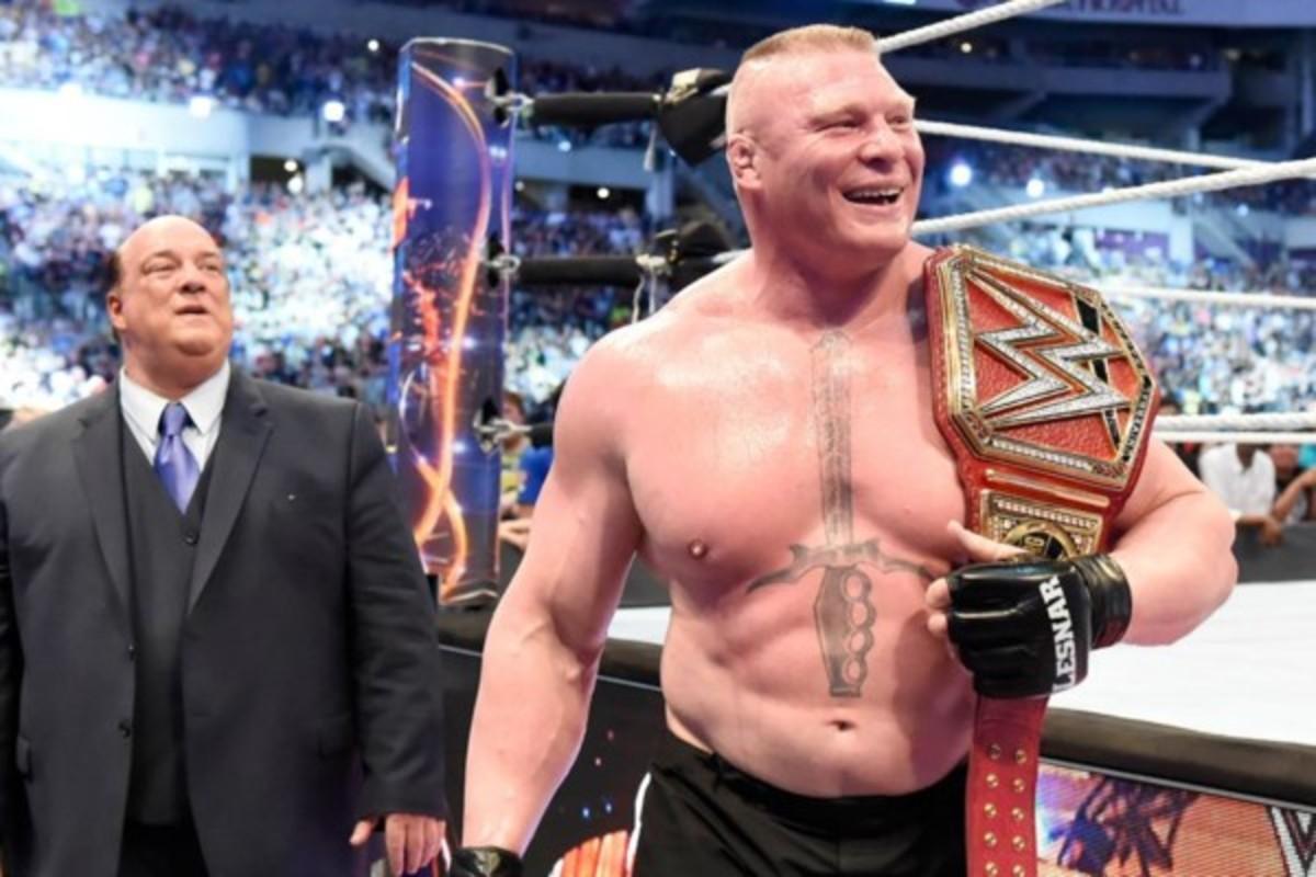 Brock Lesnar Unviversal Champion