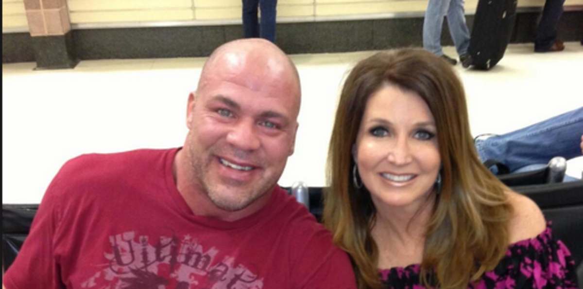Kurt Angle & Dixie Carter