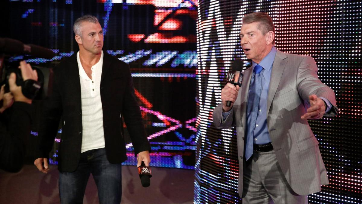 shane on Raw