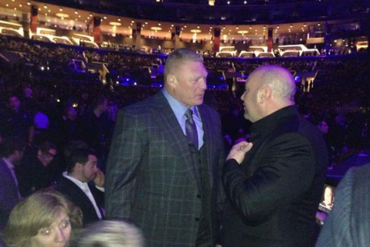 Brock Lesnar & Dana White