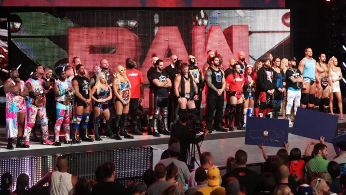 WWE Raw Talent