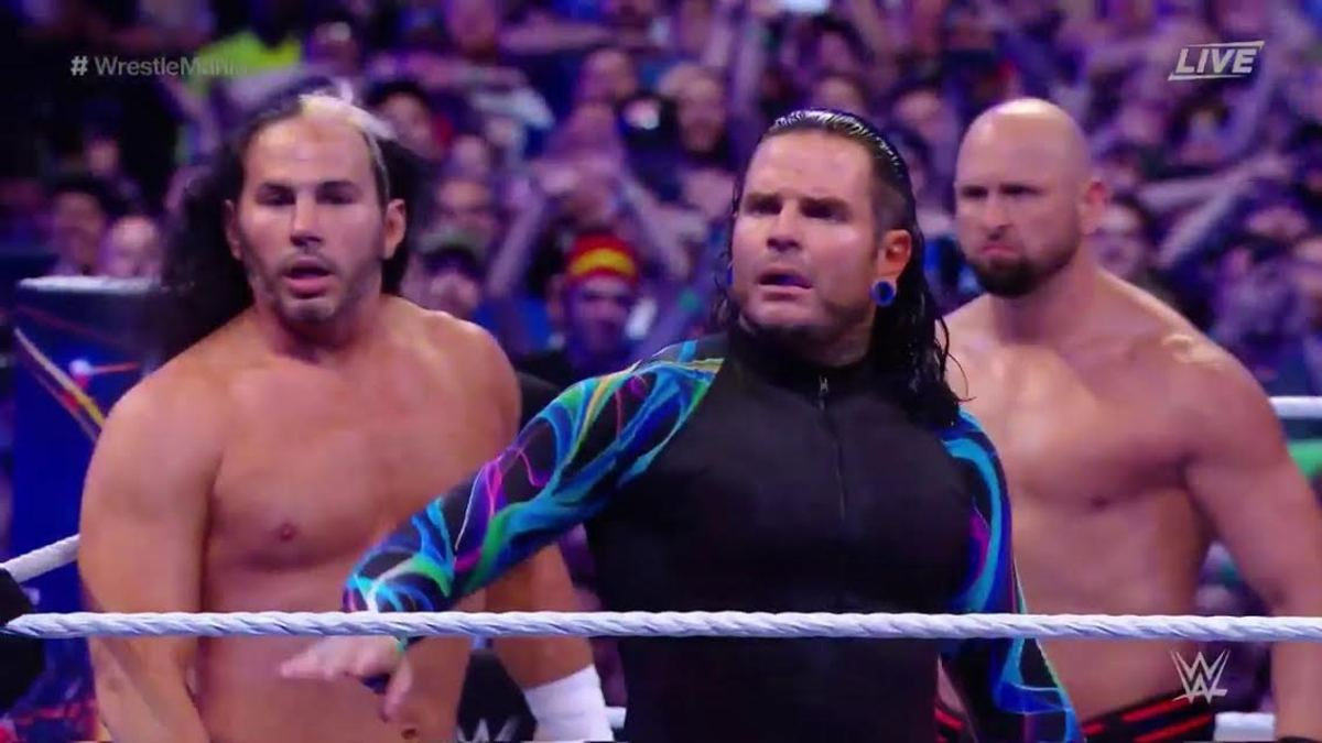 The Hardy's WrestleMania 33