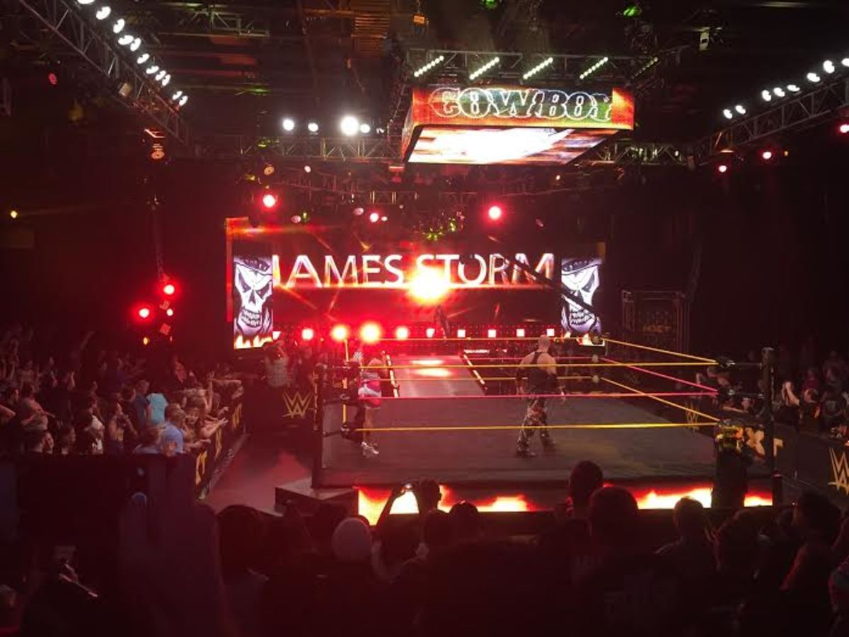James Storm - NXT Debut