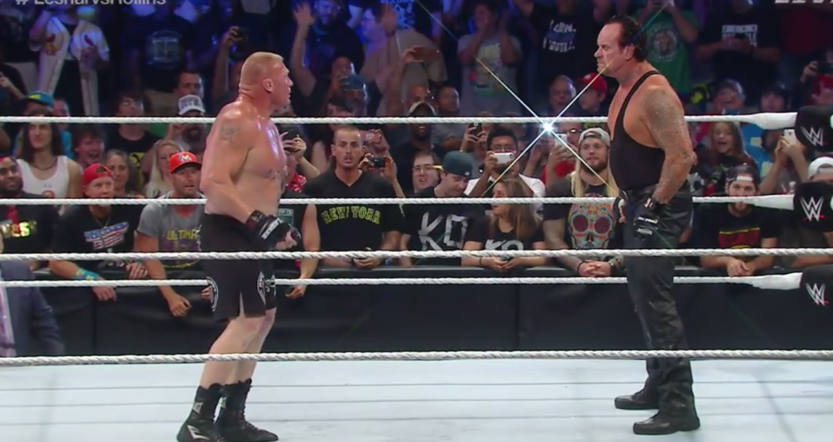 Brock Lesnar & The Undertaker
