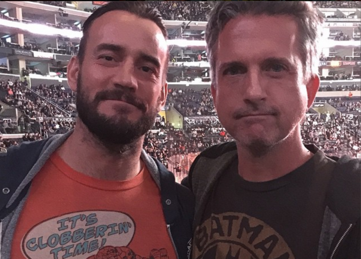 CM Punk & Bill Simmons