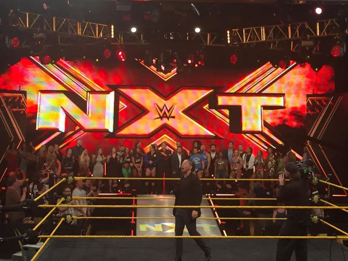 Nakamura NXT Send Off