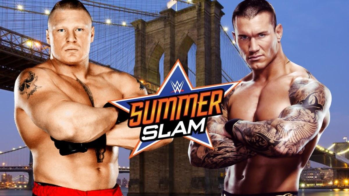 Brock Lesnar vs. Randy Orton