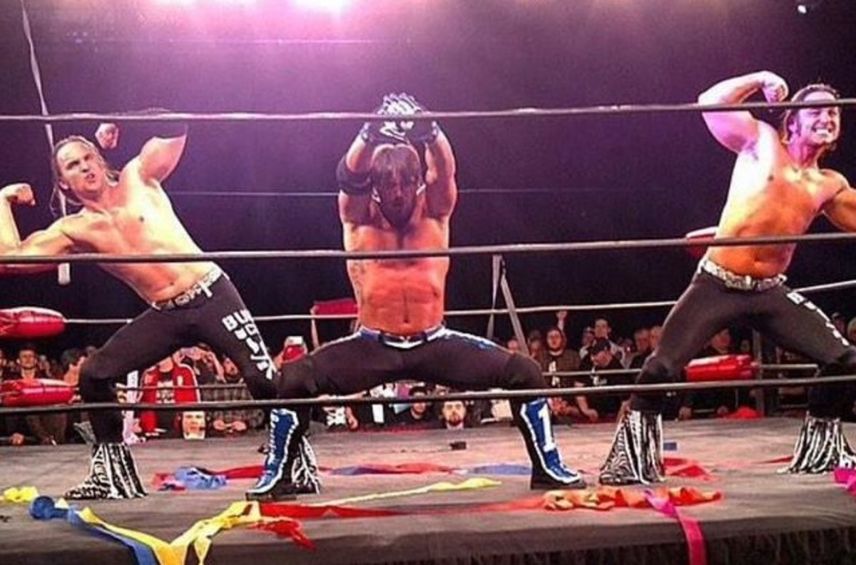 AJ Styles and The Young Bucks