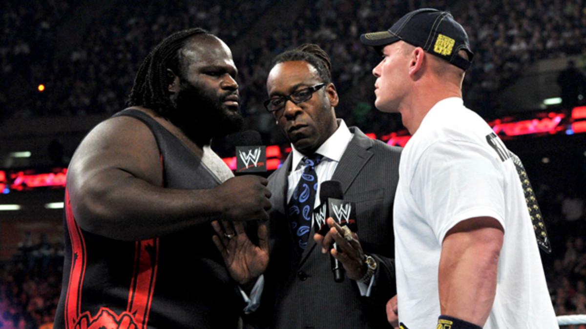 Mark Henry, Booker T & John Cena
