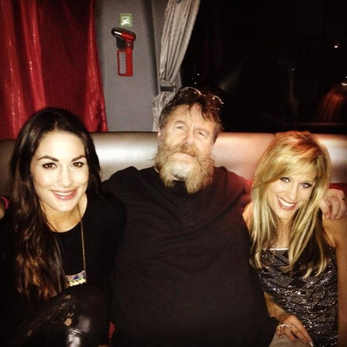 Nikki Bella, Zeb Colter & Lilian Garcia