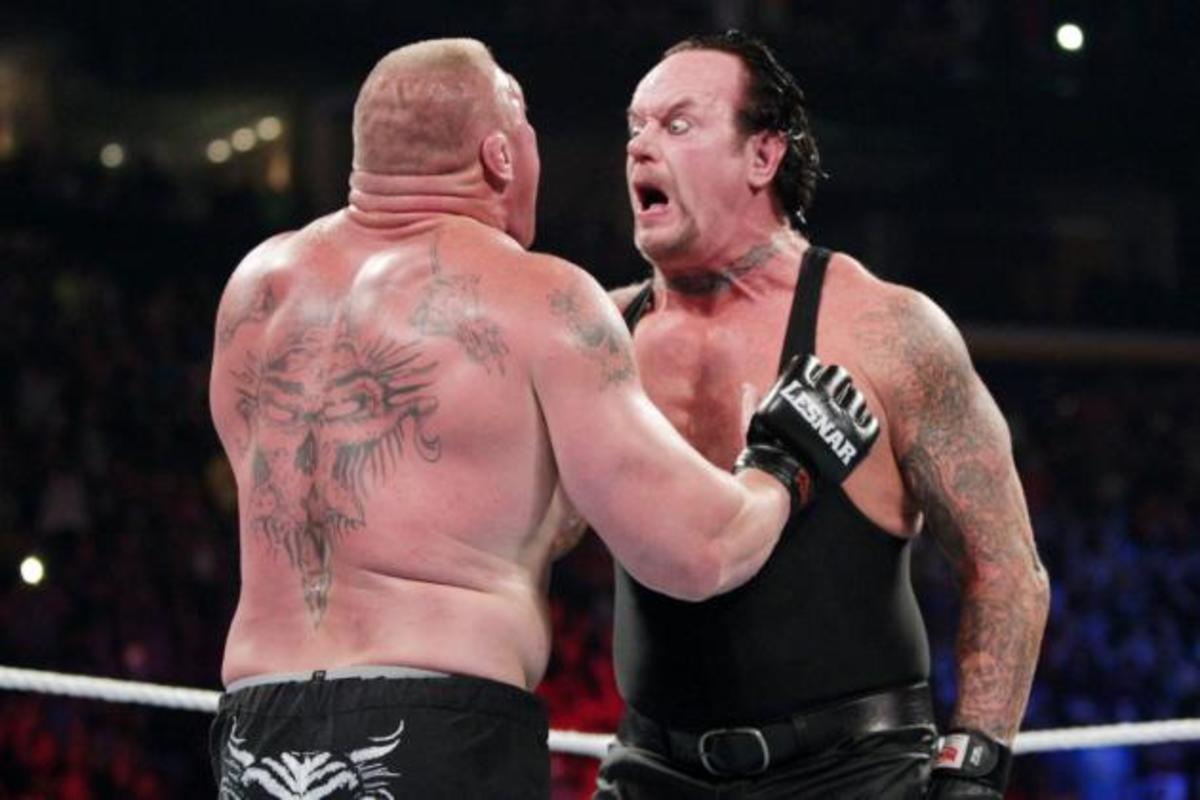 Brock Lesnar vs. The Undertaker