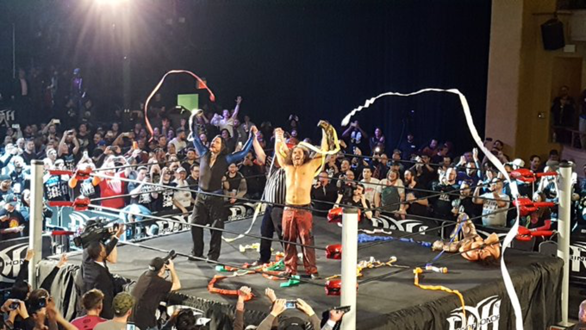 The Hardys ROH Tag Champs