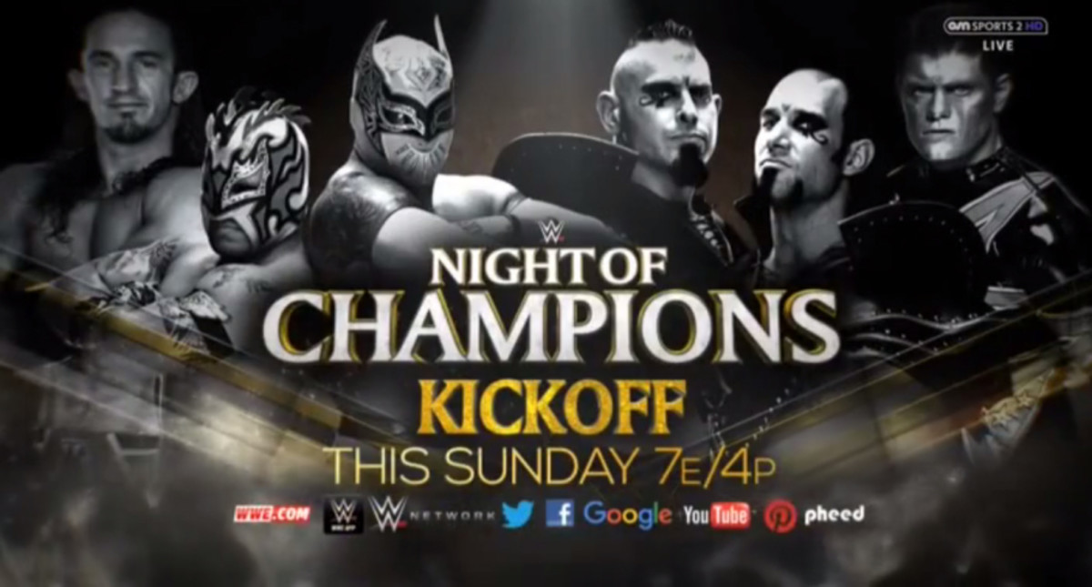 WWE Night of Champions Kickoff