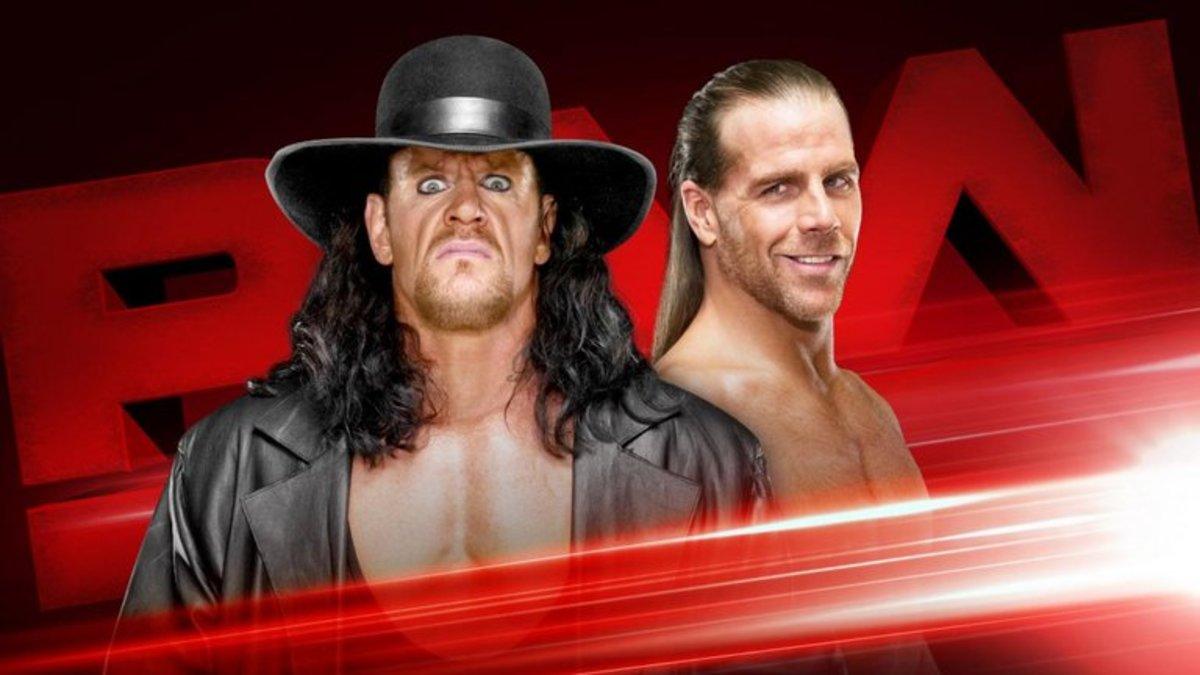 Undertaker, HBK on Raw