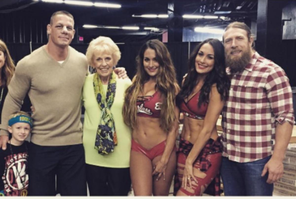 John Cena, Daniel Bryan, The Bella Twins
